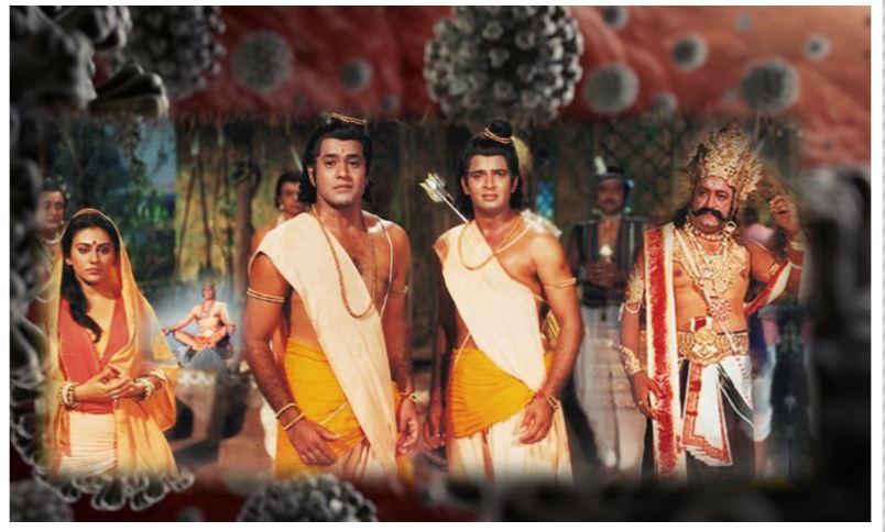 लॉकडाउन में दिखा रहे रामायण, दूरदर्शन पर खूब आ रही है कृपा