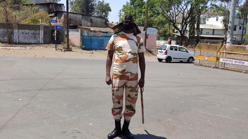 Lockdown में नासिक में फंस गया था ITBP का जवान, अब पुलिस के साथ कर रहा ड्यूटी