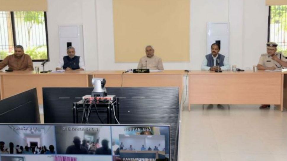 बिहार: मंत्रियों की दिनचर्या बदली, रख रहे 'सोशल डिस्टेंसिंग' का ख्याल
