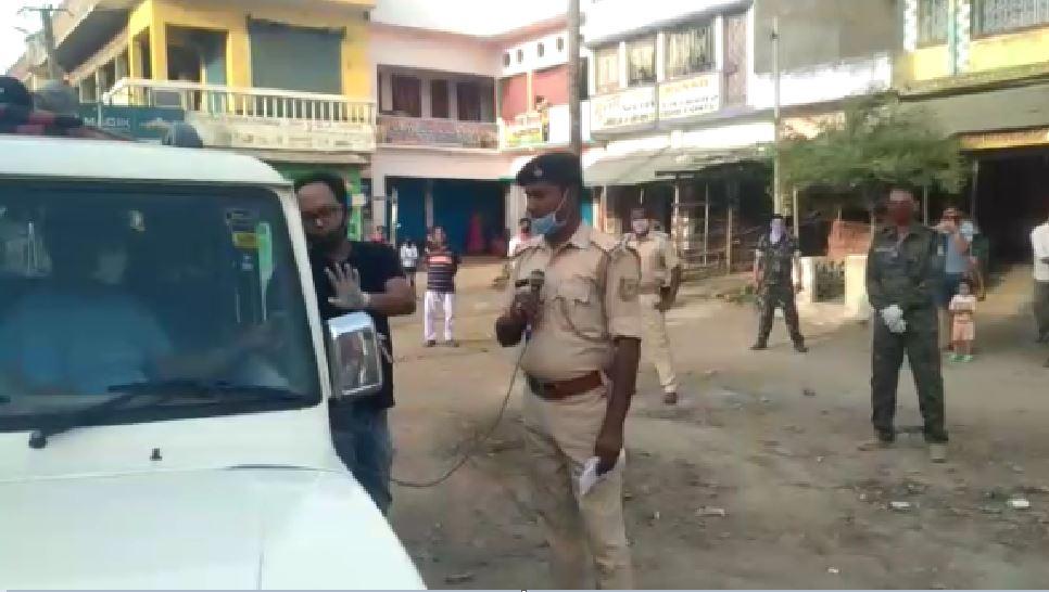 लॉकडाउन पालन कराने को पुलिस का अनोखा अंदाज, संगीत के जरिए फैला रहे संदेश