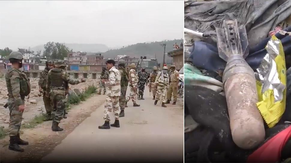 जम्मू-कश्मीर के पुंछ ज़िले में मिला ज़िंदा मोर्टार, बम दस्ते ने किया नाकारा