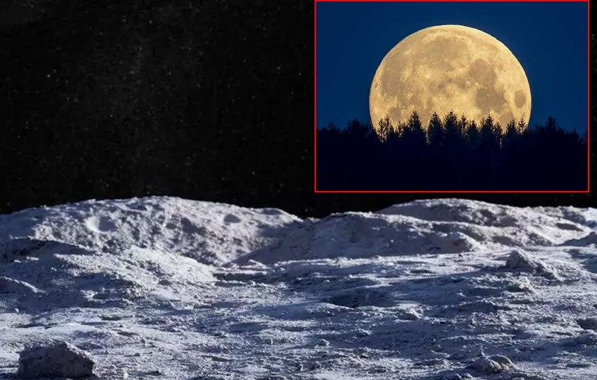 चांद पर यूरिया से बनाई जा सकती है कंकरीट, यूरिन का हो सकता है यूज