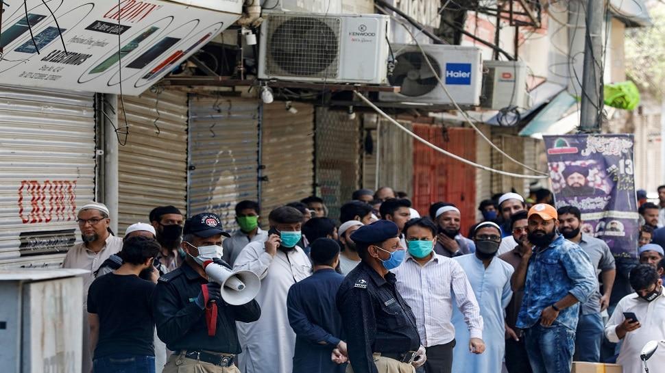 पाकिस्तान में एक ही दिन में सामने आए 1991 कोरोना के नए मामले