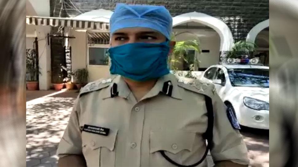 इंदौर: पुलिस जवानों को कोरोना संक्रमण से बचाने के लिए DIG ने शुरू की 'सखा-सखी' पहल