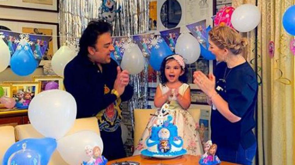 घर में मनाया अदनान सामी ने प्यारी बेटी मेदीना का बर्थडे, फ्रोजन थीम पर रखी पार्टी