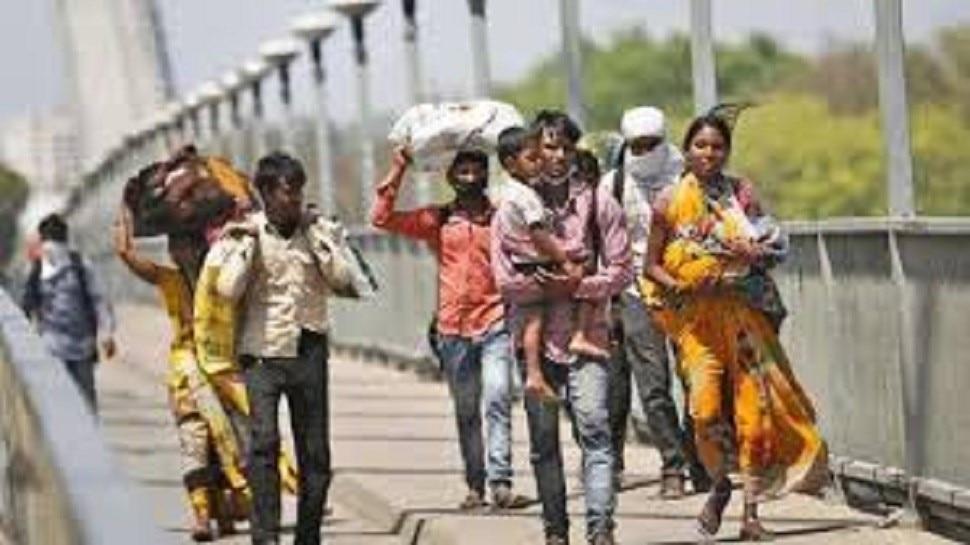 Labour returning to bihar due to coronavirus Lockdown   बिहार ...
