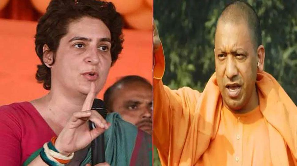 CM योगी का प्रियंका गांधी पर पलटवार, कहा- 'कोरोना संकट में नकारात्मक और कुटिल राजनीति कर रही कांग्रेस'