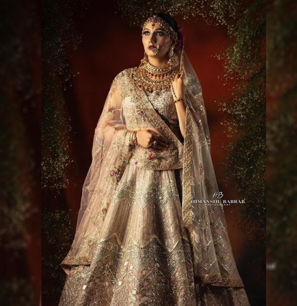 Sapna Chaudhary in Bridal look