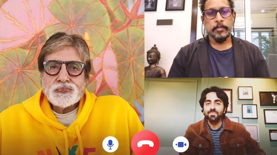 'गुलाबो सिताबो' के ट्रेलर रिलीज से पहले टीम की बातचीत का VIDEO हुआ वायरल, इस बात पर हुई बहस