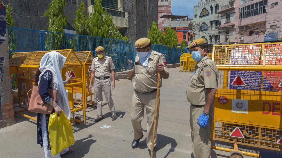 कोरोना संक्रमण की वजह से सील किए गए साउथ वेस्ट दिल्ली के ये 6 इलाके
