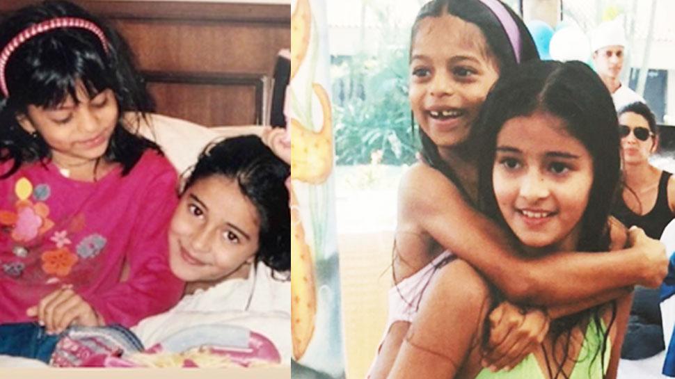 Unseen Photos: बचपन में ऐसी दिखती थीं Suhana Khan और Ananya Panday