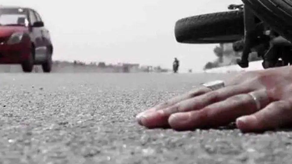 आगरा-मुंबई नेशनल हाईवे पर एक सड़क हादसे ने ली 3 लोगों की जान