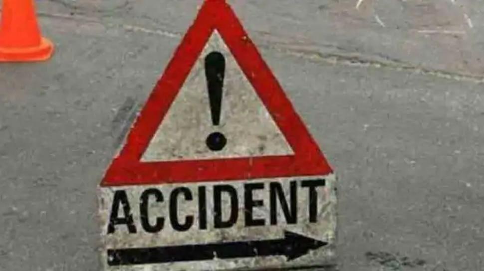 हापुड़ में दर्दनाक सड़क हादसा, एक सिपाही समेत तीन लोगों की मौत, 3 ज़ख्मी