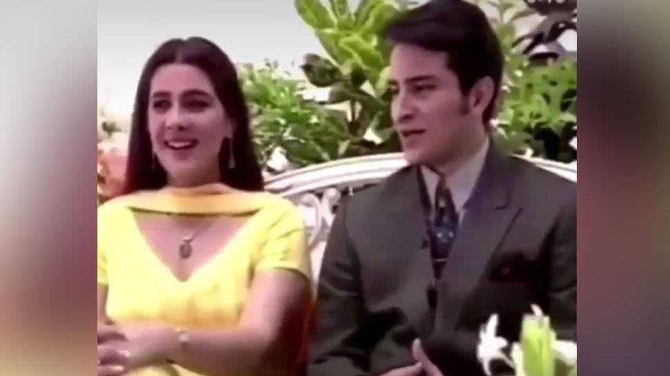 चैट शो के दौरान पत्नी Amrita Singh को जब Saif Ali Khan ने किया था KISS, Video Viral