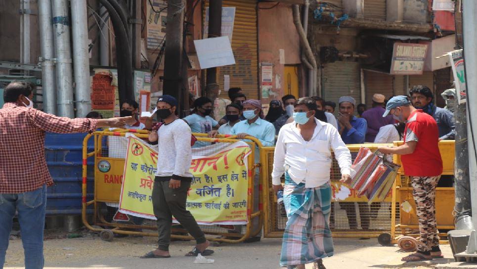 रांची: हिंदपीढ़ी को कंटेनमेंट जोन से हटाने पर शुरू सियासत, JMM ने BJP को दिया करारा जवाब