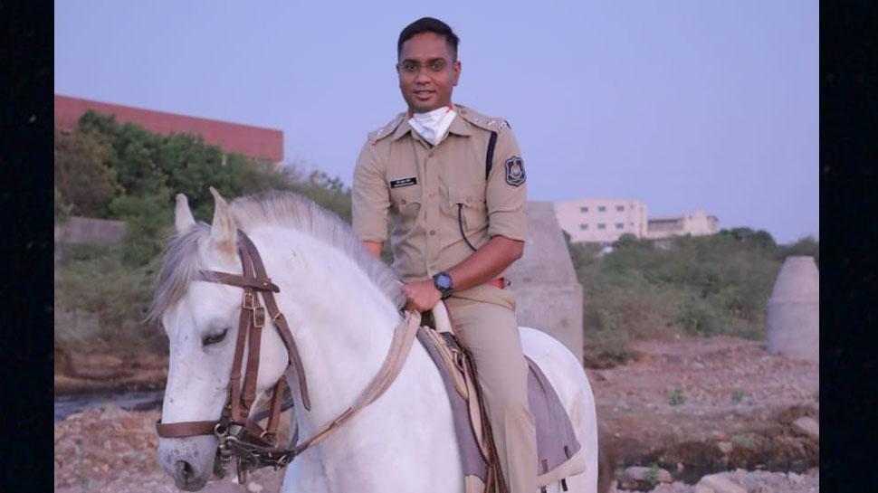 Superintendent of Police Ravi Mohan Saini