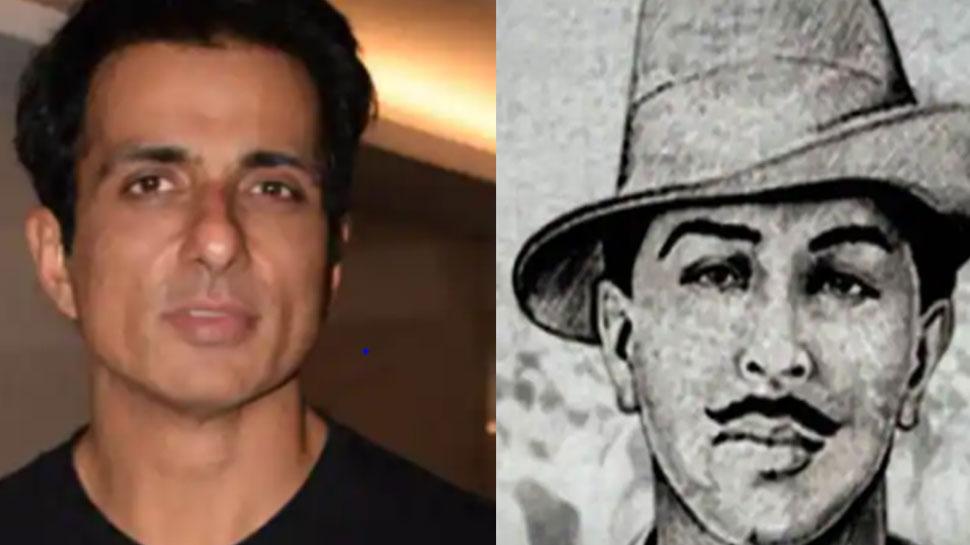 पंजाबी सिंगर ने भगत सिंह के लुक में शेयर की सोनू सूद की तस्वीर, वायरल हुई फोटो