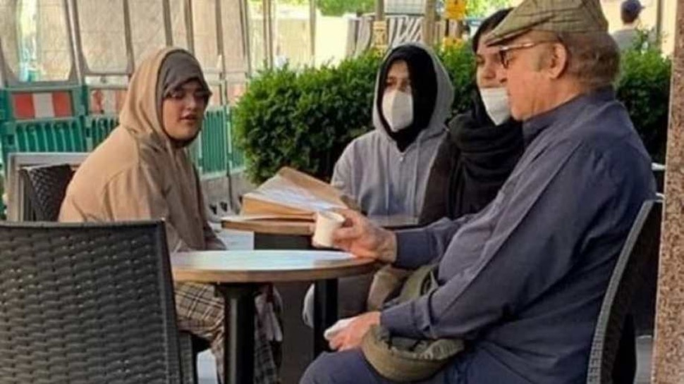 बीमारी की खबरों के बीच कैफे में बैठे नवाज शरीफ की फोटो वायरल, सेहत को लेकर छिड़ी बहस