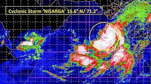 कोरोना के बीच अब MP में मंडराया Nisarga का खतरा, तूफान की जद में 15 जिले