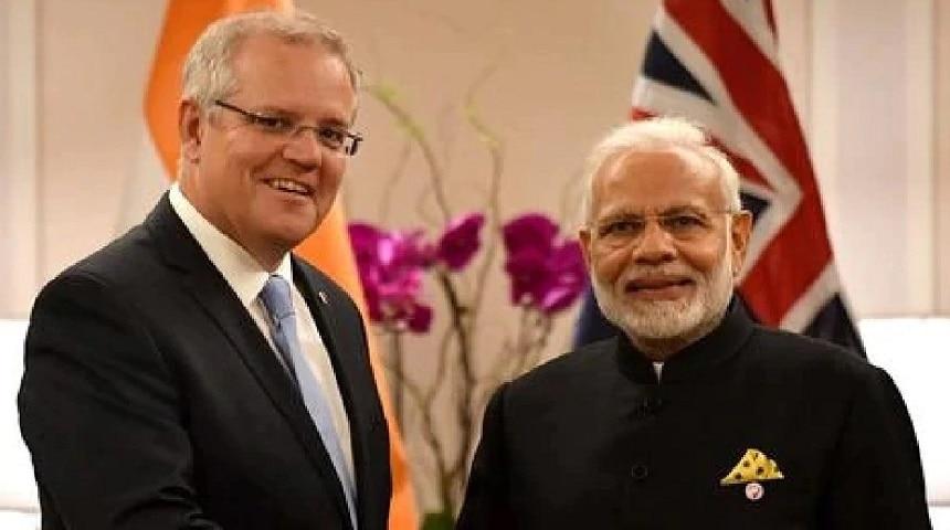 ऑस्ट्रेलियाई पीएम: 'गुजराती खिचड़ी खाने की इच्छा,पीएम मोदी को गले न लगा पाने का अफसोस'