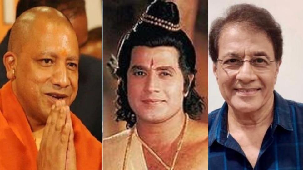 CM Yogi को Ramayan के 'राम' ने कहा- 'संन्यासी से अच्छा राजा कोई और नहीं हो सकता'