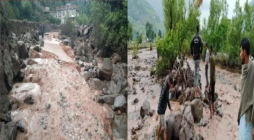 जम्मू कश्मीर के पुंछ में बादल फटने से आई तबाही