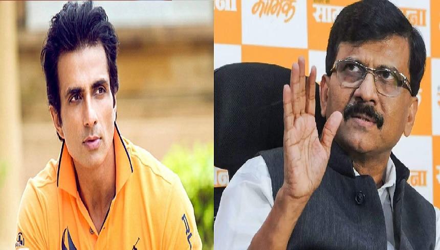 शिवसेना का दोहरापन: खुद से नहीं संभल रहा महाराष्ट्र, सोनू सूद पर लगा रहे झूठे आरोप