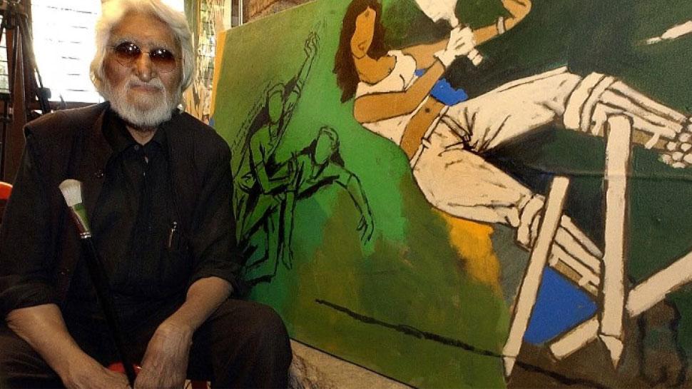 india best paid painters mf husain