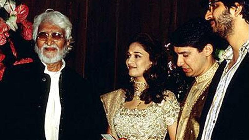 mf husain film with madhuri dixit