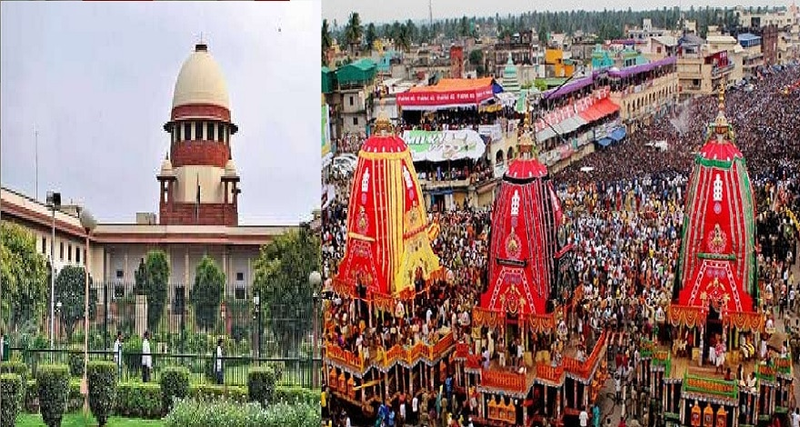 Supreme court Stays Jagannath Rath yatra for this year due to ...