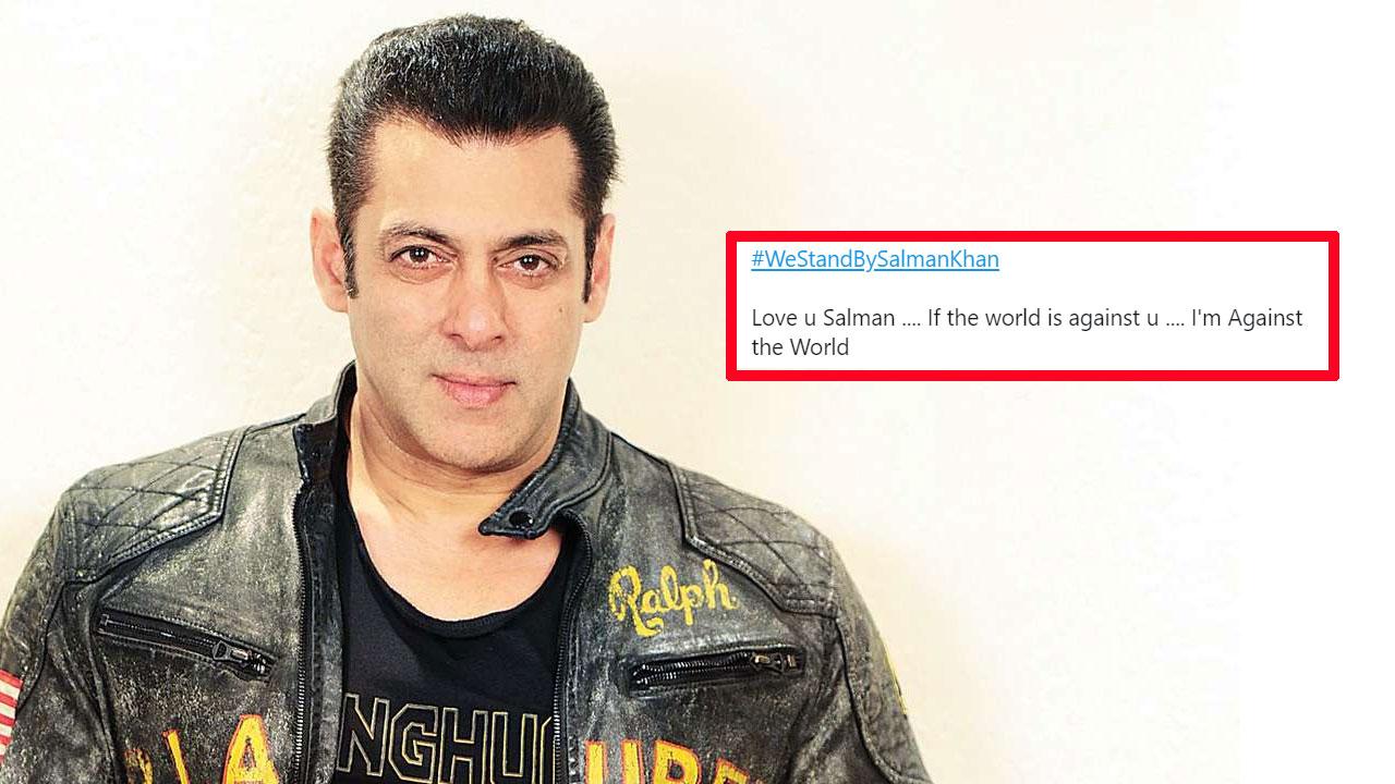 Salman Khan के सपोर्ट में ट्विटर पर उतरे उनके फैन्स, किए 3 लाख से भी ज्यादा TWEET