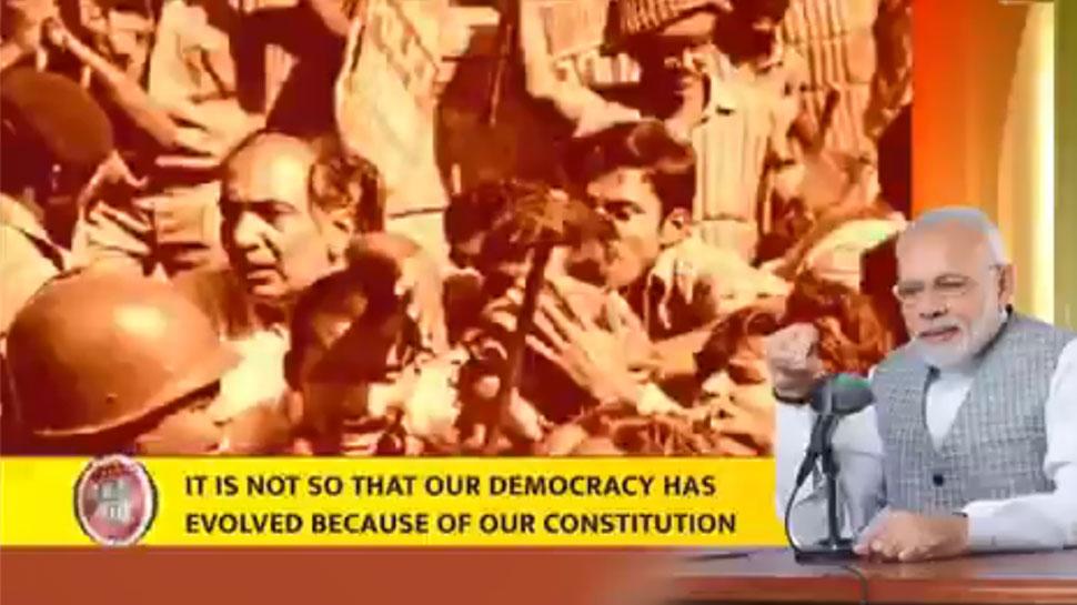 आपातकाल की बरसी पर PM मोदी का ट्वीट, 'लोकतंत्र की रक्षा करने वालों को नमन'