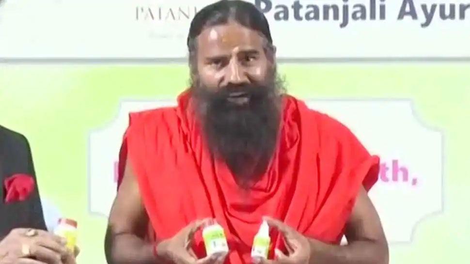 राजस्थान: पतंजलि कोरोना दवा मामले में रामदेव, 4 अन्य के खिलाफ FIR दर्ज