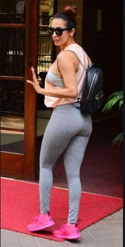 malaika arora in yoga pants