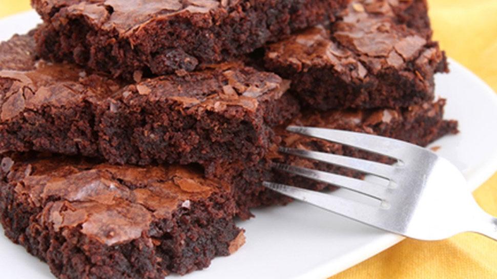 टेंशन को दूर रखना है तो खाएं एगलेस डार्क चॉकलेट ब्राउनी