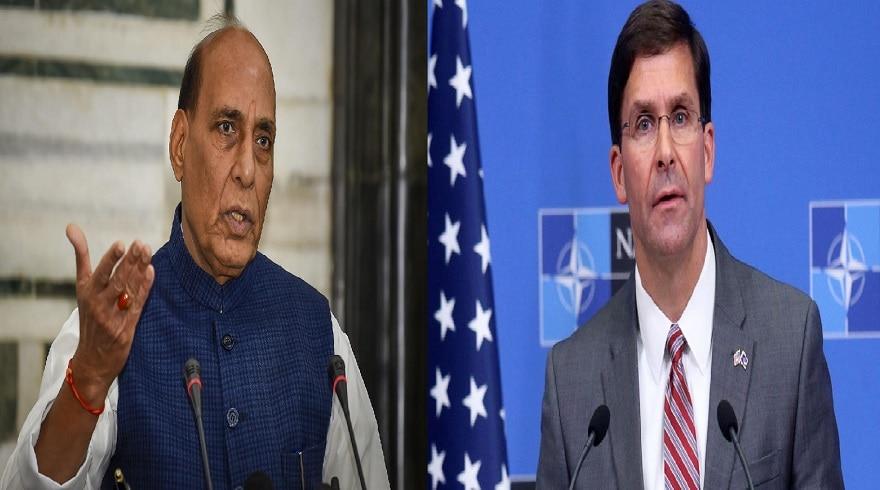 चीन पर भारत का कूटनीतिक वार, अमेरिकी रक्षामंत्री से बात करेंगे राजनाथ सिंह