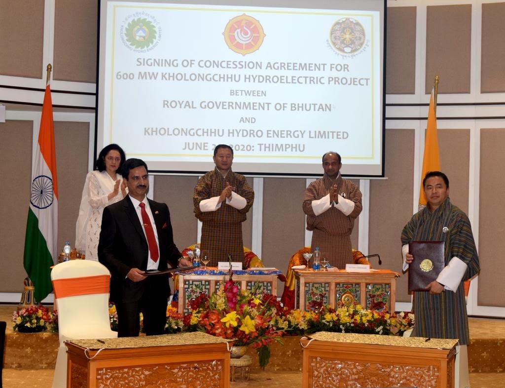 भारत-भूटान के संबंध हुए और मजबूत, इस समझौते पर दोनों देशों ने किए हस्ताक्षर