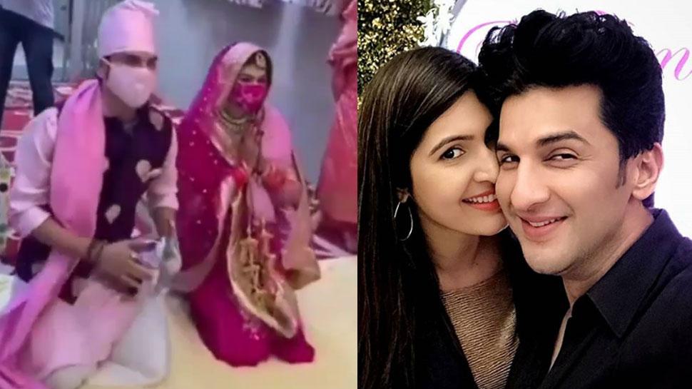 'ससुराल सिमर का' के अभिनेता मनीष रायसिंह ने मुंबई में की शादी, ये हैं उनकी दुल्हन