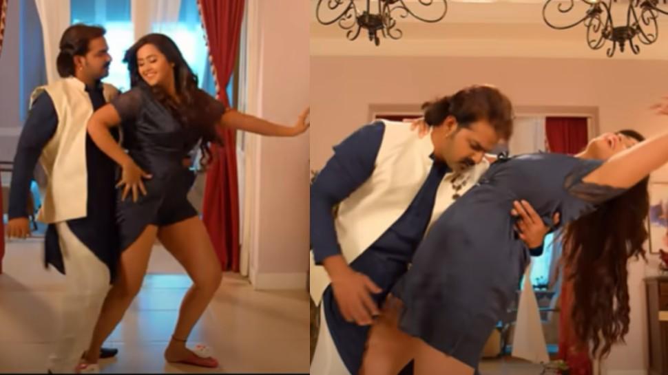 पवन सिंह और काजल राघवानी के गाने ने इंटरनेट पर लगाई आग, वायरल हुआ VIDEO