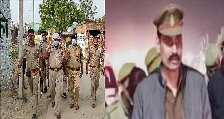 कानपुर हमला: तोड़ा गया विकास दुबे का घर, मुखबिरी के आरोपी SO पर भी कार्रवाई