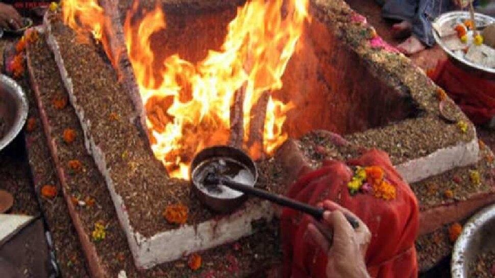रायपुर: कोरोना वायरस भगाने के लिए जैतुसाव मठ में हवन, 37 दिनों तक होगा इस मंत्र का जाप