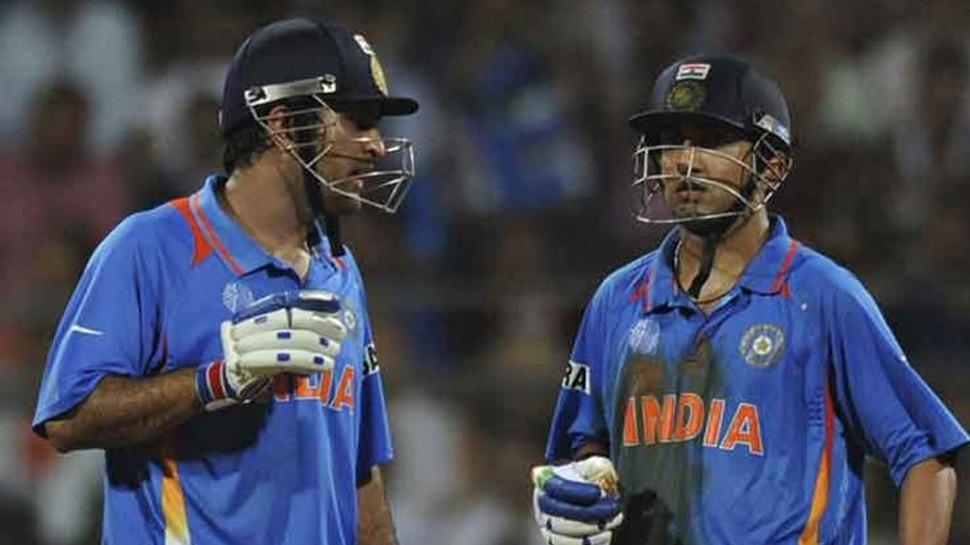 गौतम गंभीर ने धोनी की कामयाबी के पीछे इस खिलाड़ी का हाथ बताया, जानिए कौन हैं वो
