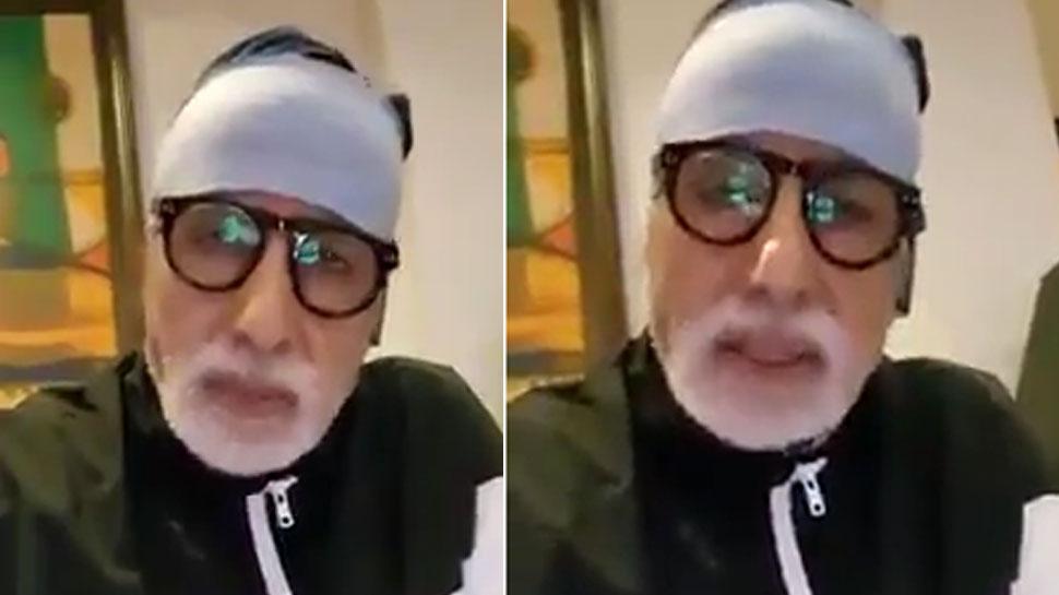वायरल हो रहा है अमिताभ बच्चन का ये VIDEO, डॉक्टर्स को बताया भगवान