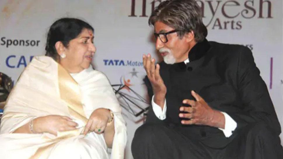 लता मंगेशकर ने अमिताभ बच्चन को दिया स्वस्थ होने का आशीर्वाद, लिखा ऐसा TWEET