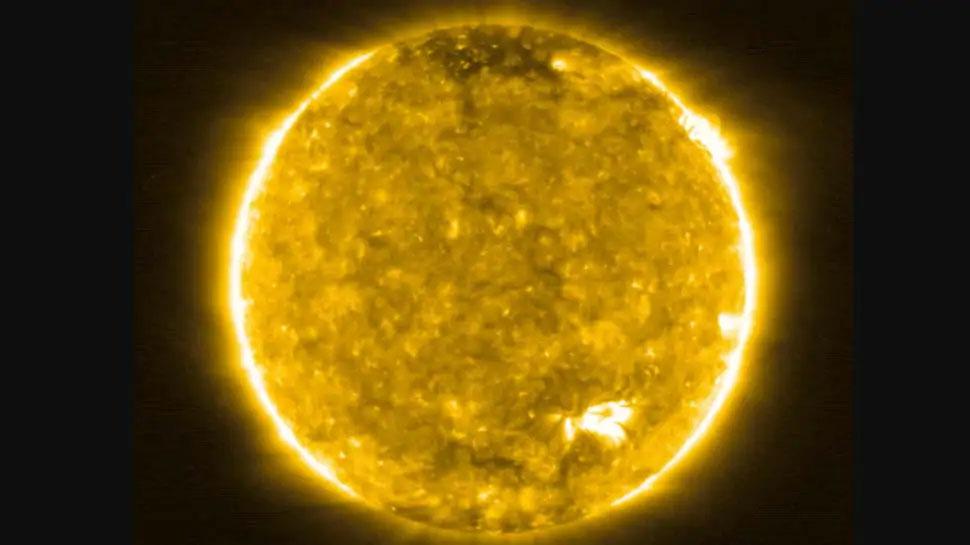 धरती और सूरज के बीच आधे रास्ते से ली गईं सूर्य की तस्वीरें, दिखी बस आग ही आग