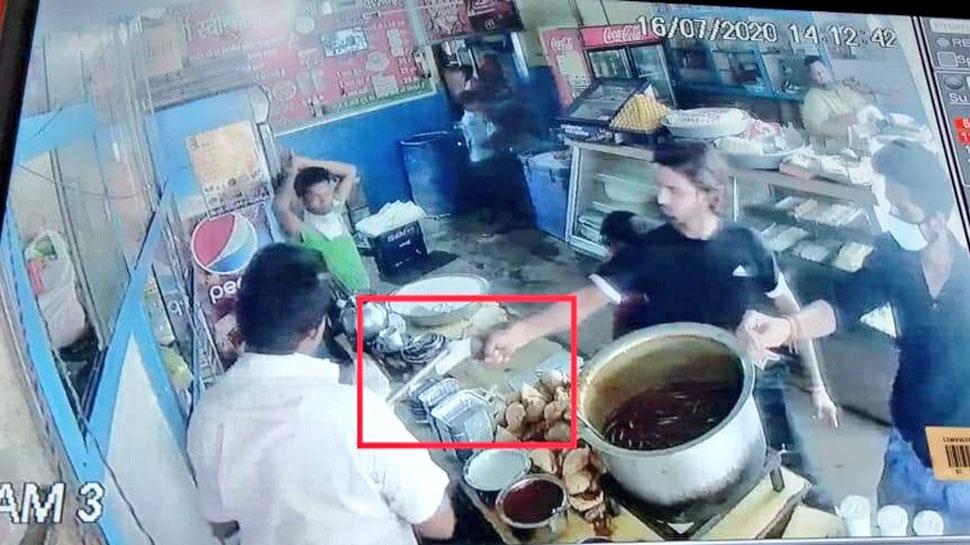 बेखौफ बदमाशों ने दिनदहाड़े की व्यापारी की हत्या, सीसीटीवी में कैद हुई वारदात