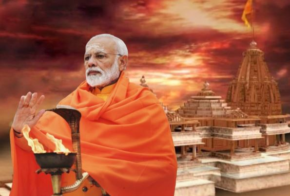 PM Modi will visit Ayodhya to attend Shri Ram Janmabhoomi Pujan ...