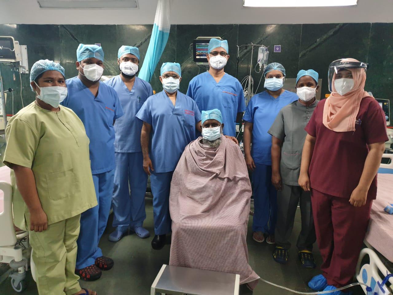 देश में पहला मामला: कोरोना से ठीक हुए मरीज की सफल कोरोनरी बाईपास सर्जरी