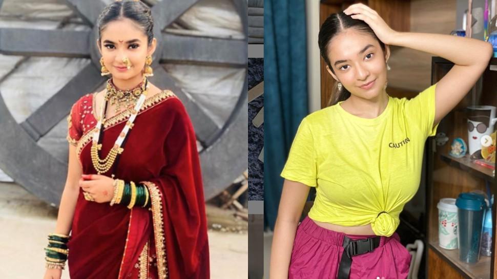 Anushka Sen score good maeks in 12 class | सिर्फ एक्टिंग में ही नहीं पढ़ाई  में भी माहिर है यह एक्ट्रेस, 12वीं में किया इतना स्कोर | Hindi News, टीवी