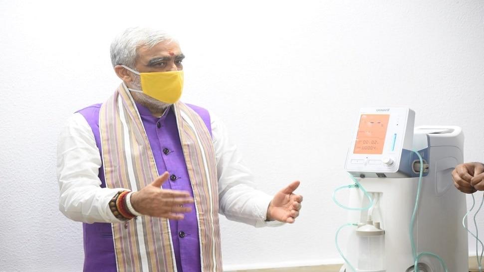 बिहार को उपलब्ध कराया जाएगा ऑक्सीजन कंसंट्रेटर: अश्विनी चौबे